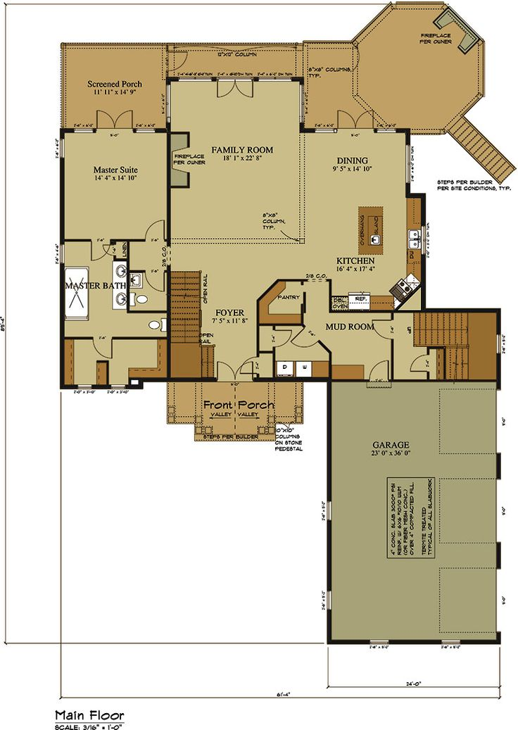 1000 ideas about lake house plans on pinterest house for Lake house floor plan