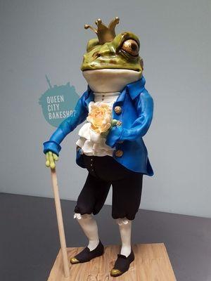 Frog Prince Groom's Cake
