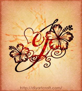 Le 17 migliori idee su tatuaggi di lettera su pinterest for Idee tatuaggi lettere