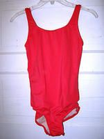 lands-end-coral-nylon-stretch-1-pc-lined-tank-swimsuit-6-