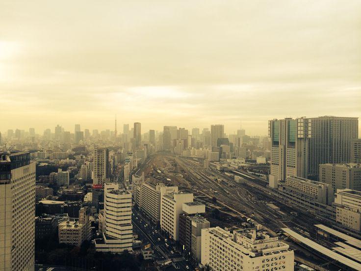 View of Tokyo from Shinagawa