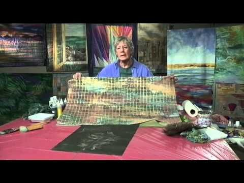 ▶ Mickey Lawler Teaches You to Paint Landscape Fabric - YouTube