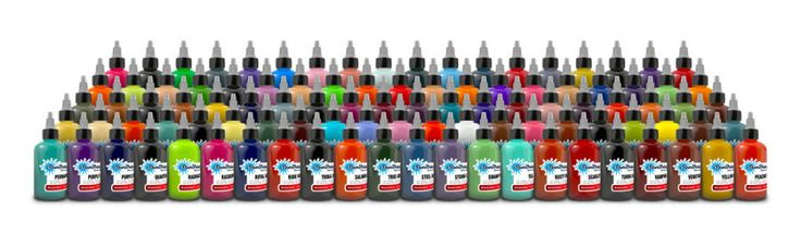 Tattoo Inks: Starbrite Authentic Tattoo Ink - Colors Group Set 1 Oz BUY IT NOW ONLY: $82.74