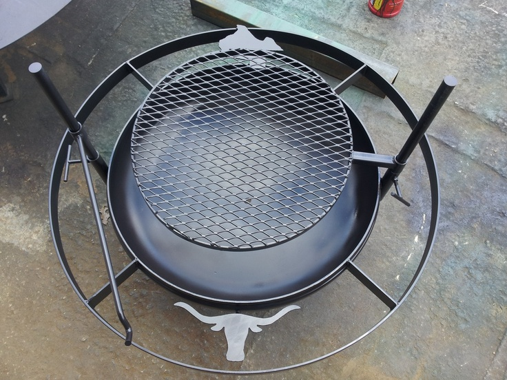 Custom BBQ Pits | Custom Fire Pits bbq Pit Hand Made Quality - 349.00
