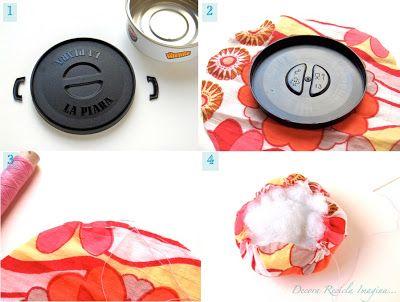 how to make a fabric cupcake pincushion