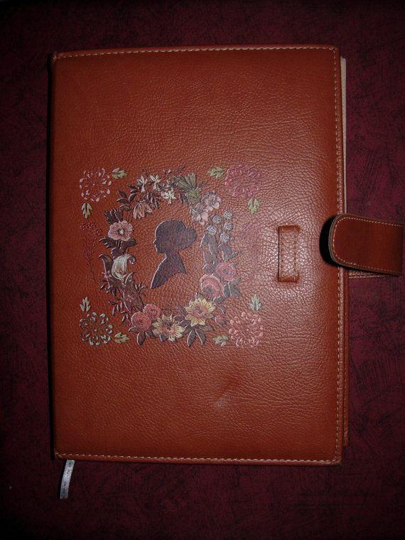 Big Floral Leather Art by eltsamp on Etsy, $175.00