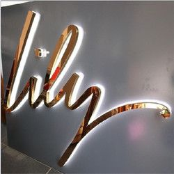 Lily Chrome & LED signage                                                                                                                                                                                 More