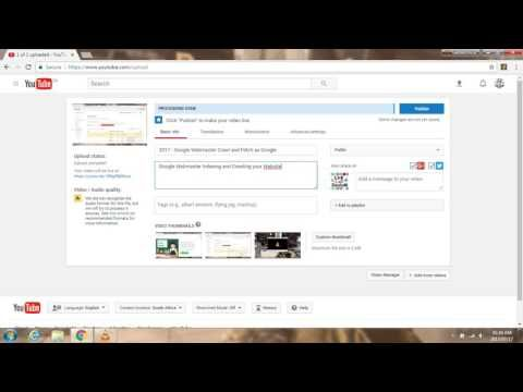2017 - How to Upload Youtube Content Marketing Videos