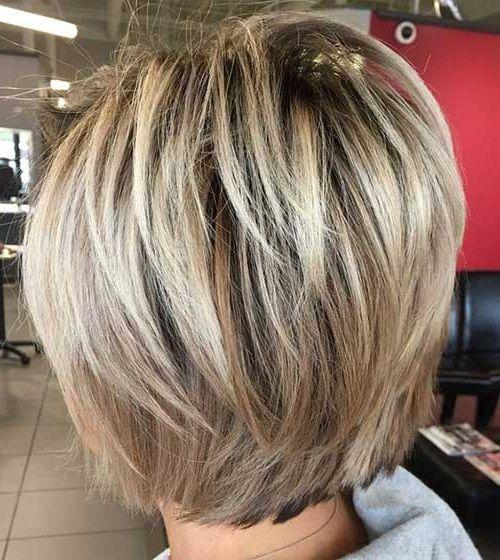Blonde Bob-Frisur