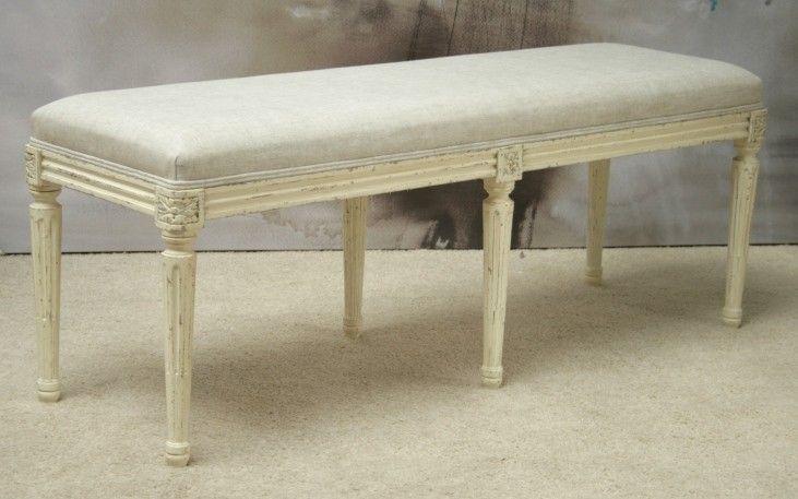 BH43: Boudoir Bench in Old Cream (1)