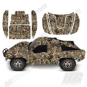 RC Decal Kit Traxxas Slash 4x4 1 10 Max 4 Realtree Camoflauge Camo Kit | eBay