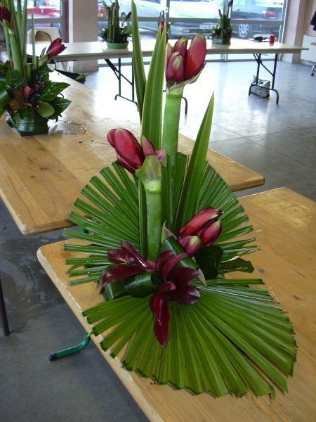 Resultado de imagem para compo florale avec anthuriums