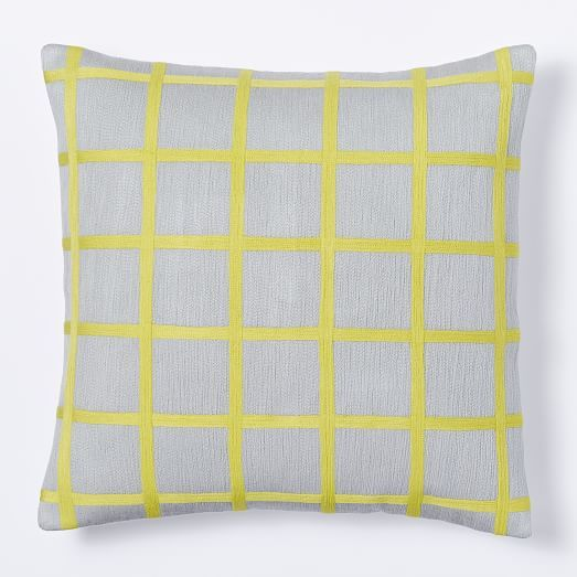 Really great for the couch if you go for the yellow stools for West elm yellow chair
