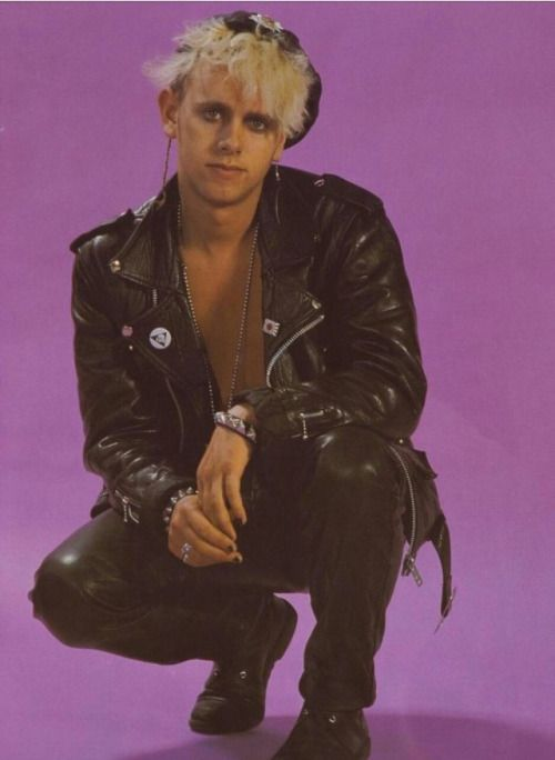Martin Gore, love him!