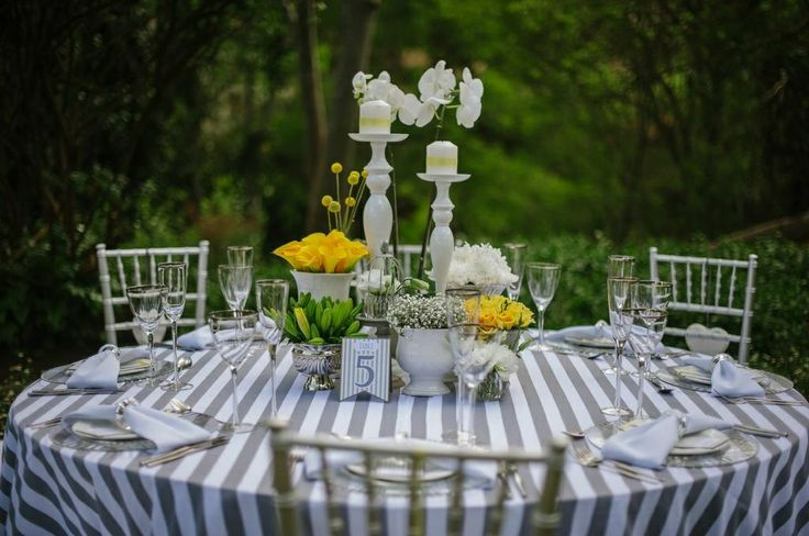 Grey and yellow wedding inspiration ideas Decor, flowers and styling by Decor Mechanics Photography by Alexander Smith Photography Stationery by Ruby Grey