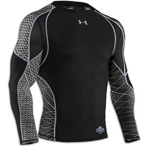 Under Armour NFL Combine Warp Speed L/S T-Shirt - Men's - Football - Clothing - Midnight Navy/Steel