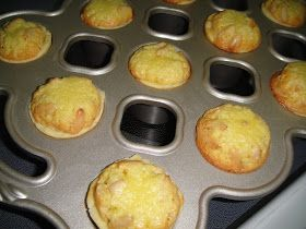 These little cuties were originallyone largepinenut tart, which I've decided to make into a mini popover pan , because I remember enj...