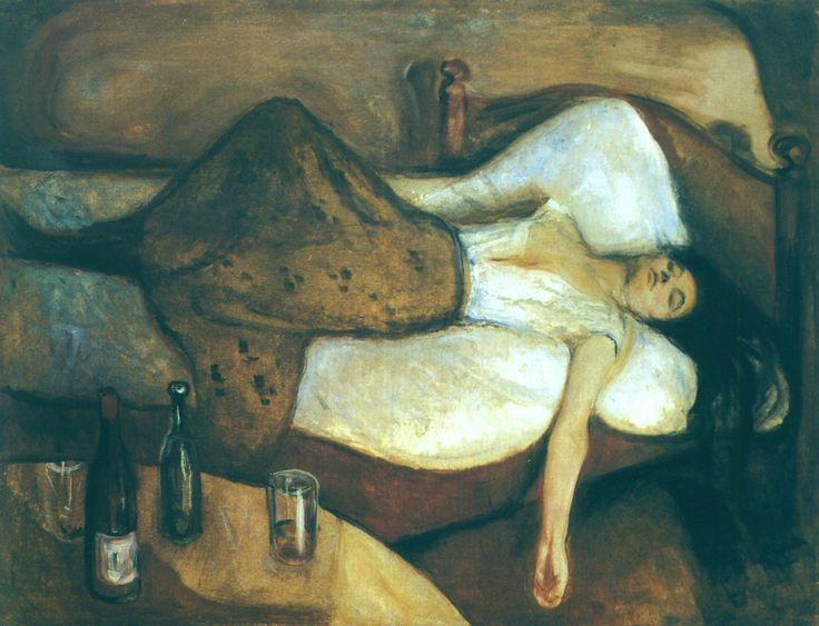 Le jour d'après - Edvard Munch