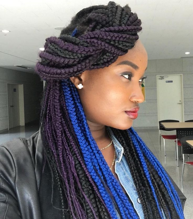 how to put hair cuffs on braids