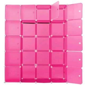 Simple Steckregal DIY Regalsystem Schuhregal B roschrank pink in Dresden Pieschen B rom bel gebraucht kaufen eBay