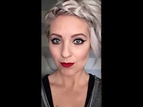 Dutch braid for pixie cuts. - YouTube