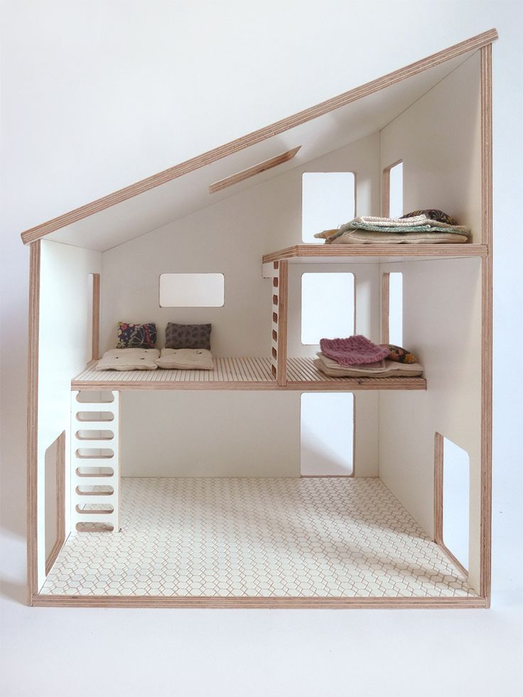 Gorgeous plywood doll house                              …