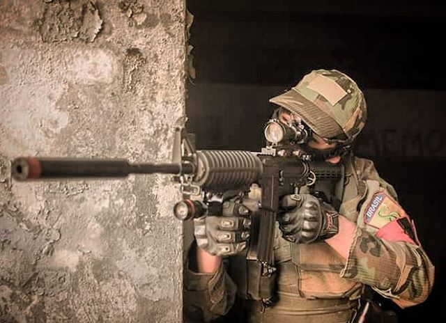 From @terminusbattlefield  #airsoft #airsoftinternational #airsoftbrasil #airsoftsports #ares #hk #g36 #m4 #honeybadger #am014  #cybergun #m870 #fnherstal #p90 #echo1usa #remington #m28 #classicarmyusa #springfield #m14 #mk14 #army #kimber #r28 #m1911 #pistol #shotgun #rifle #dmr #sniper