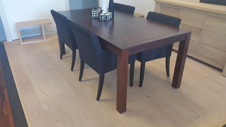 Kersen houten tafel Maine - Fairwood; de grooste en goedkoopste leverancier van massieve houten tafels