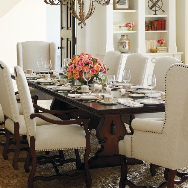 Best 25 Trestle Dining Tables Ideas On Pinterest