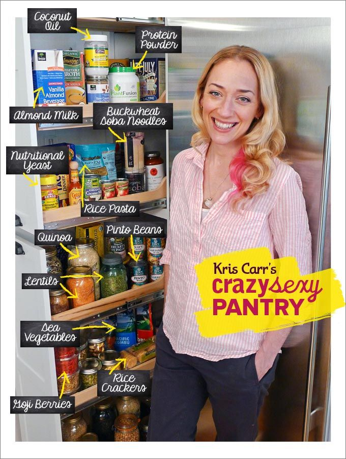 This woman's book changed my life, and this peak into her pantry was actually really helpful. -KS
