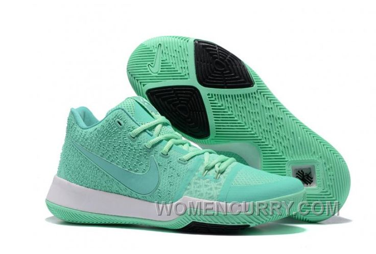 Nike Kyrie 3 Mens BasketBall Shoes Light Green White Cheap To Buy YsFNbB