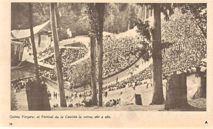 """Festival de Viña del Mar, 1978 (Publicado en revista """"Que Pasa"""")"""
