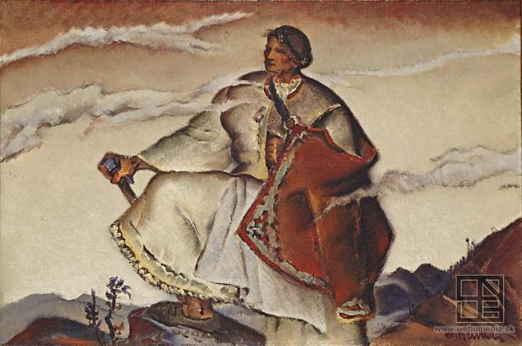 Slovak painter Martin Benka: on Poľana