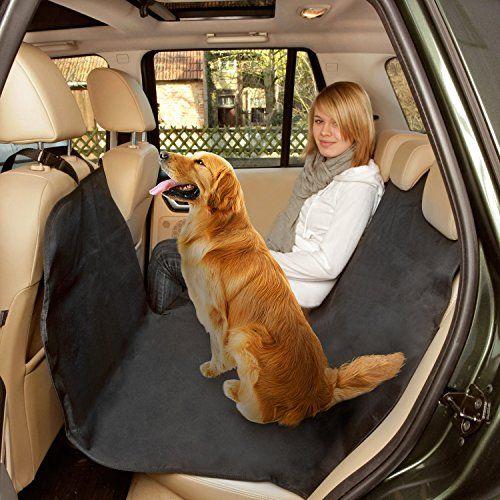Poppypet Kofferraumschutz Hunde, Praktische Auto Hundedecke, Autoschondecke mit Seitenschutz, Wasserfestes, Hochwertiges Material Schützt Ihre Autositze vor Schmutz und Tierhaaren Schwarz – Congstone Daily Deals