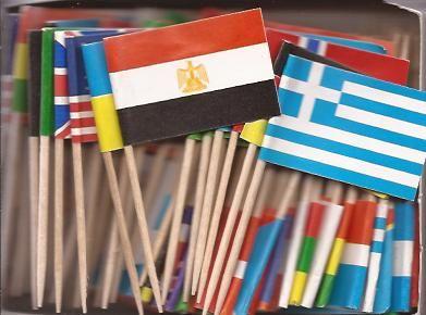 World Flags Toothpicks