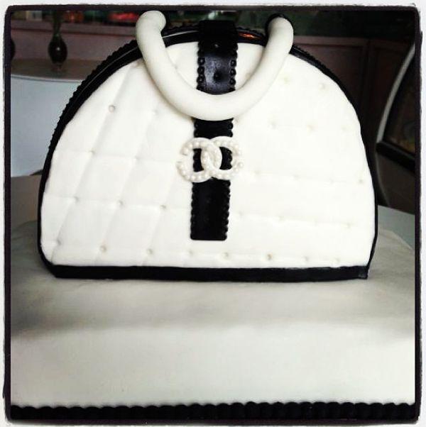 #Pastel de bolsa! #cake #fashion