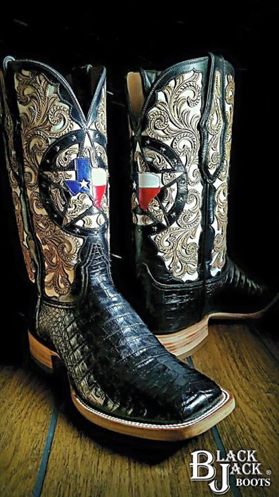 16 Best Custom Black Jack Boots Images On Pinterest