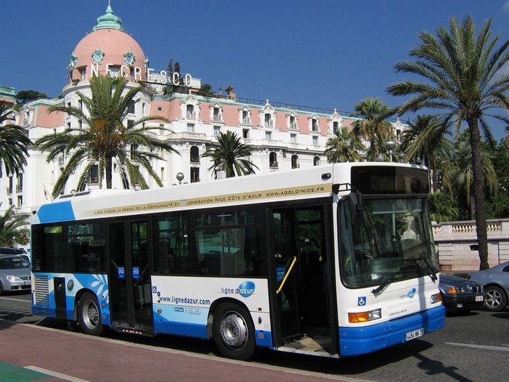 Bus et tramway à Nice, le réseau ligne d'Azur dans la capitale de la Côte d'Azur
