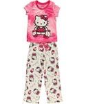 "Hello Kitty ""So Sweet"" 2-Piece Pajamas (Sizes 7 – 16) - #CookiesKids #HelloKitty #GirlsFashion"