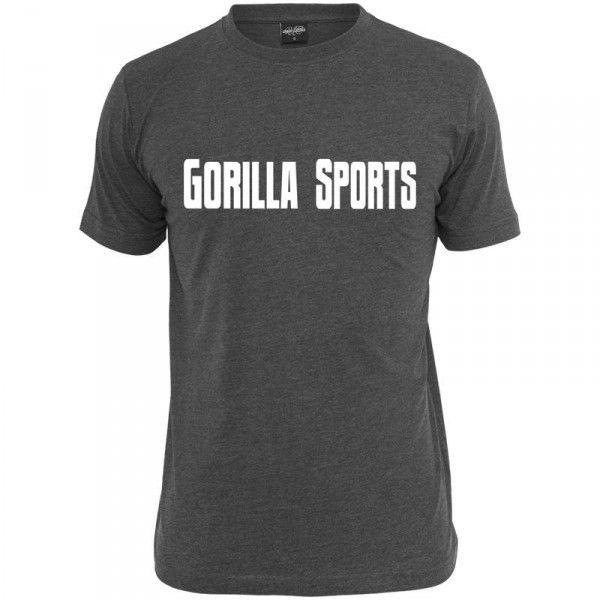 Gorilla Sports t-paita harmaa, 16,95 €. Gorilla Sportsilta suosittu harmaa T-paita. Paita on tehty 100% puuvillasta ja on erittäin mukava päällä. Luonnollinen valinta treenaukseen. #tpaita #paita #treeni #treenaus