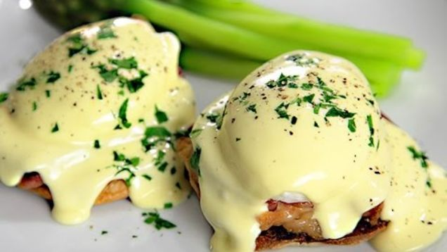 Making hollandaise sauce the traditional way may be time-honored, but it takes a lot of effort and is easy to mess up. If you have an immersion blender at home, here's how you can make perfectly creamy hollandaise every time, in no time.