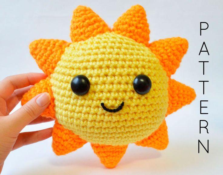 Mr. Sunshine Crochet Pattern - You Are My Sunshine ...