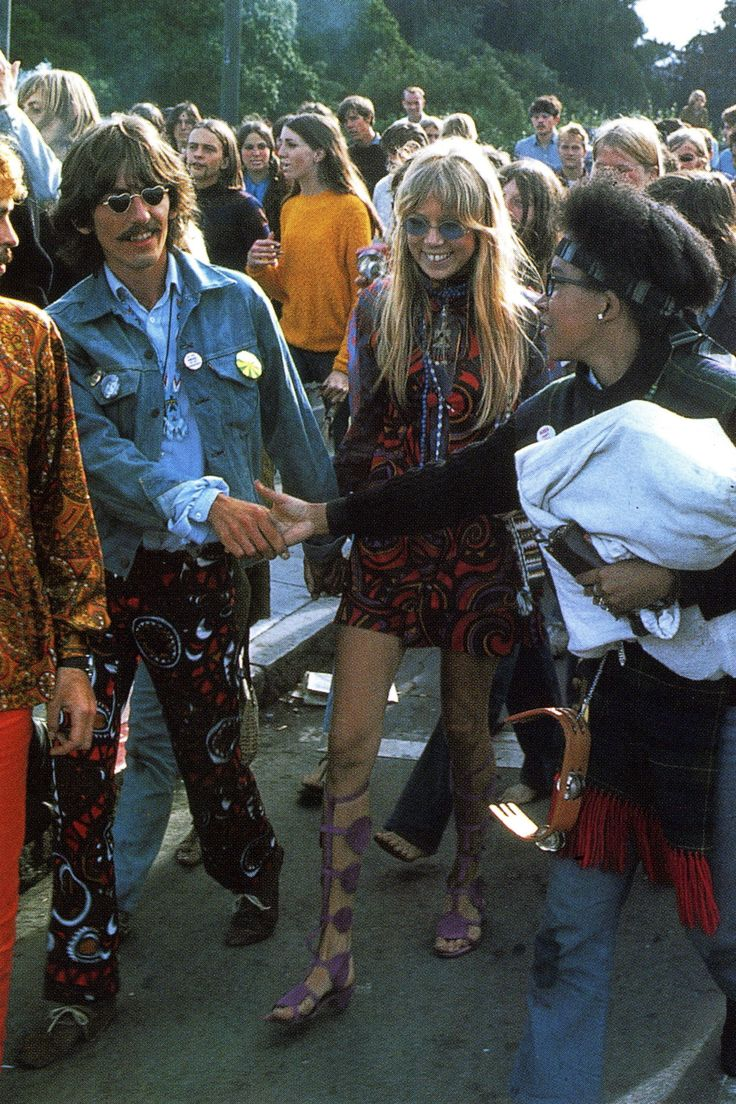 theyroaredvintage: George Harrison and Pattie Boyd, late ...