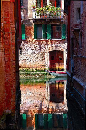 Reflections of Venice by BBMaui, via Flickr