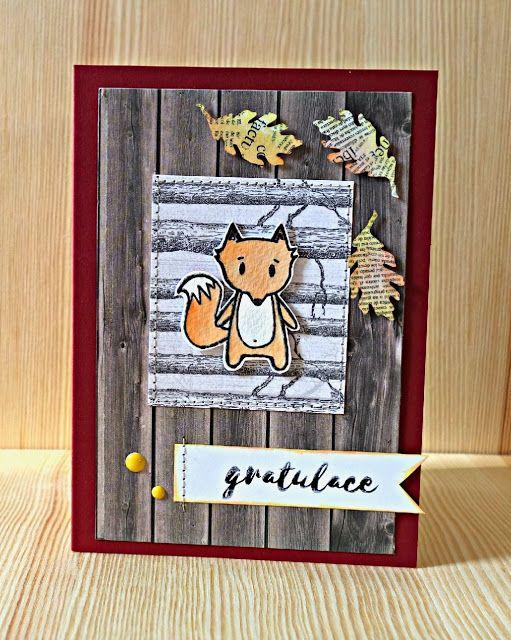 podzimní přání s liškou