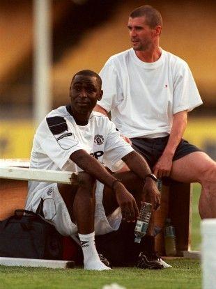 Andy Cole - Roy Keane