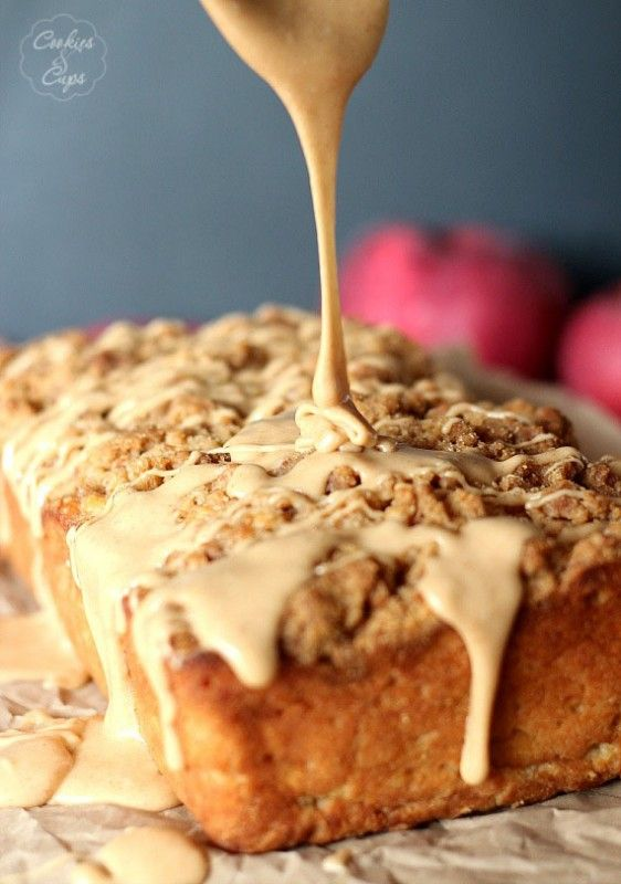 Apple Pie Bread ~ easy quick bread that is insanely good and very easy!