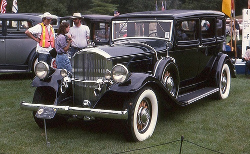 1932 Pierce-Arrow V-12 4 door by carphoto, via Flickr, Pretty sure this only came with a flat head straight 8, Beautiful engines, full of chrome worked on 2 of them, 1926 & 1931.
