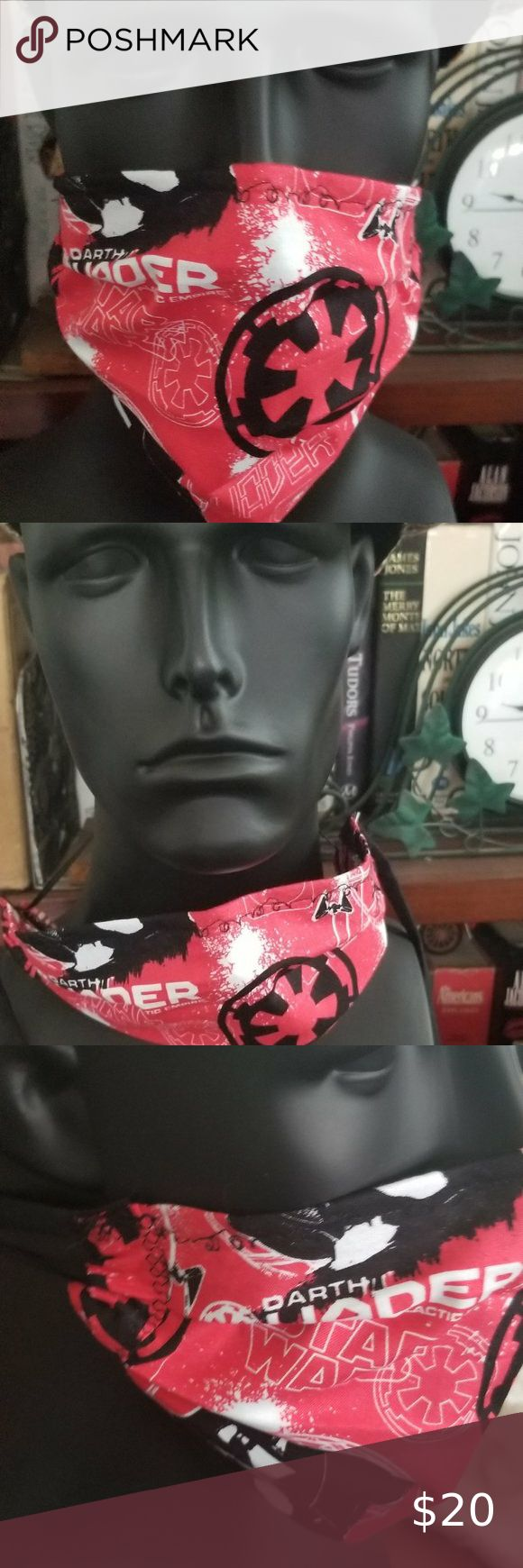 Cloth Face Mask Silver/Copper FiltersDarth Vade in 2020