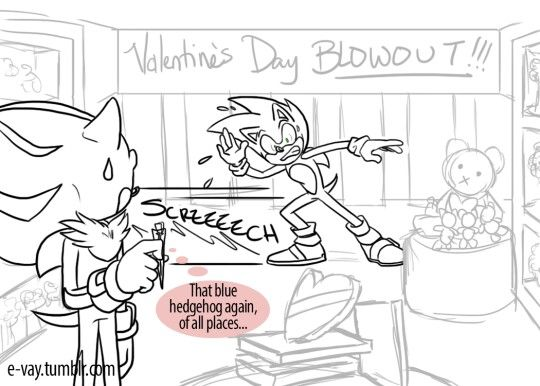 valentine's day comic book